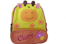Personalized toddler backpacks / Cute animal themed toddler backpacks with your child's name!