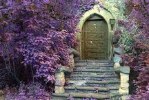 Where has all the magic gone? / It's just next door. But which door? Before you find magic, you have to find its door...