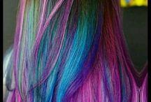 niesamowite fryzury