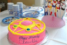 Sailor moon cakes