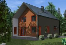 EKONIA.RU / Проекты каркасных домов фирмы EKONIA сайт http://www.ekonia.ru