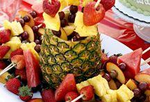 Obst anrichten