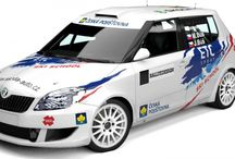 Martin Búš (Škoda Fabia) / Wrap design for season 2012.