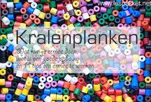 Kleuters: Kralenplanken / Tips voor het werken met kralenplanken en voorbeeldkaarten om uit te printen