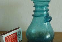 Smelting glass