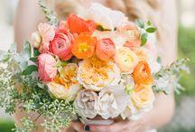 Narancs esküvő - Orange wedding / Ideas - ötletek