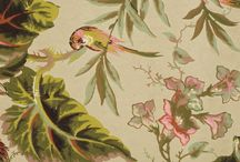 Patterns/textiles/wallpapers / Images from the Geffrye's collection