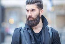 bearded man / bearded man