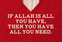 If you  love Allah