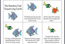 The Rainbow Fish bulletin board / by Michelle Bershad