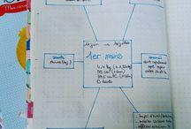 Bébé - Mon bullet journal / mon carnet de maternité, avec une partie agenda et des fiches pratiques à télécharger en format A5 :-) #bulletjournal #baby #diy #bujo #papeterie