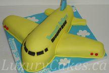 tarta avión