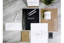 Corporate Identity - IDEADE / Corporate identity of Ideade brand. Designs and pictures