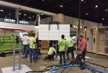 Trade Show Set-Up / Check out behind the scenes of the trade show booth getting set-up!