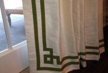 greek key drapes
