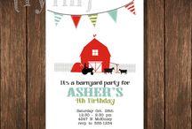 Party Planning - Farm Barnyard