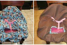 Lil Muntzters: High Chair/Shopping Cart Covers