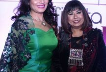 """La Fiesta Calendar 2017 Launch Party / CEO of 'Lafiesta' Amit Kumar recently hosted a grand launch of """"Lafiesta Calendar 2017"""" at the 'Unplugged Courtyard'. The exquisite Calendar showcased new talent and prominent female Achievers. The Chief Guest of the gala event was the legendary Beauty and Wellness Diva Shahnaz Husain. The event was graced by the city's glitterati. The guests had a splendid time enjoying some great music over scrumptious appetizers and drinks."""