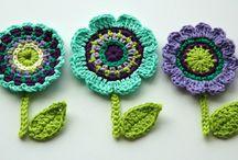 Chrochet flowers
