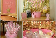 Baby shower ideas / Ideas for baby girls baby shower / by Ashley Stewart-Hostikka