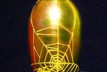 Vase Spider Web