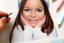 Art - Portraits - Children