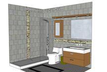 BATHROOM: 6x8 / Want a BATHROOM design?  Send Info to Marmotech, Inc at facebook.