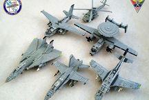 Lego ships & planes