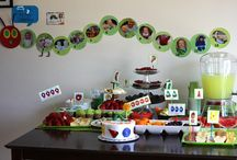 Char's Birthday / 1st birthday. Very hungry Caterpillar  / by Sarah Clagett