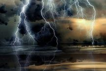 The forces of nature. / Don't fear the forces of nature, respect them! It's fascinating!