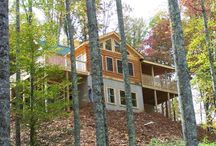 Mountain Homes / A unique blend of North Carolina Mountain Homes