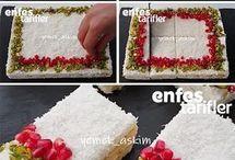 kar yağdı pastası