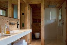 Salle de bain montagne