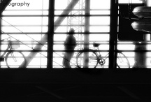 Street / Strangers passing by, odd complexity of structures, beauty confronting ugliness.