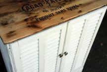 Furniture updates / by Lisa Frady Cornwell
