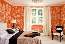 Pomarańczowa energia! / Kolor pomarańczowy we wnętrzach? czysta energia:)