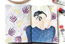 My Sketchbook / My happy place #Journal #artistjournal