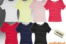 Bluzki damskie / Bogaty wybór fasonów bluzek damskiech