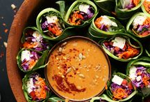 Appetizers and Snacks / Healthy party fare and snacks