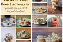 Food Photography / We eat food, we love food, we talk about food, we share recipes, and we take pictures of food. So learn how make the best of your food photography for blogs, websites
