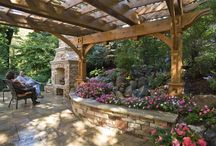 Courtyard/Patio/Deck/Porches / by Kathy Clark