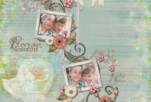 Paper Style Digital Scrapbook Layouts (DSPdotMe)