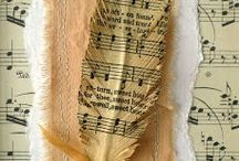 Music & Book Themed Crafts / by Janice Porter