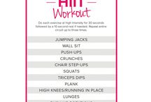 Workouts / Morning workout routines