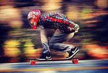 Longboard Downhill DH