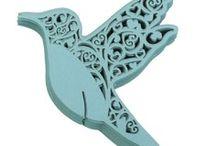 marque place mariage  oiseau bleu turquoise,porte noms bleu,etiquette bleue