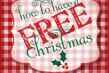How to Have a Free Christmas / Christmas doesn't have to blow your budget. In fact, it doesn't have to cost anything at all. Here's how to have a free Christmas.