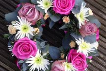 Funeral wreaths / Wreath tributes by Jo Beth floral design