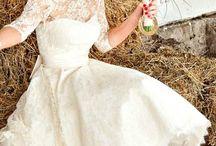 Wedding Rustic & 50's Dress