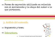 Pautas para hacer un buen comentario de texto(bachillerato) / Indicado para nivel Bachillerato